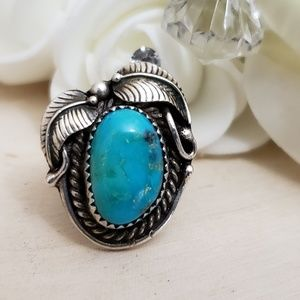 Jewelry - Andy Lee Kirk Navajo Sterling Silver Ring Size 6.5